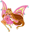 Winx Club Flora Enchantix pose5