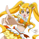 Mahou Shoujo Pixy Princess yellow pose
