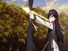 Vividred Operation Rei using her weapon22