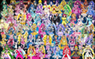71 Pretty Cure Warriors with Fairies