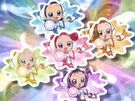 Ojamajo Doremi Dokkan! Group spell (without Hana)
