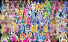 80 Pretty Cure Warriors with Fairies