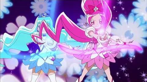 Heartcatch Pretty Cure! - Floral Power Fortissimo attack