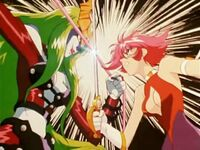 Cutie Honey vs Sister Jill
