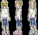 Pretty Cure Max Heart Hikari pose2