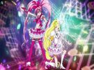Suite Pretty Cure Cure Melody and Rhythm transformation pose
