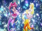 Suite Pretty Cure Suite Cures in their transformation