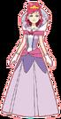 Cosmic Baton Girl Comet-san Queen pose