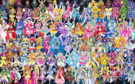 109 Pretty Cure Warriors with Fairies