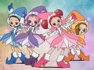 Ojamajo Doremi Sharp Group transformation pose