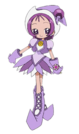 Ojamajo Doremi Motto Onpu witch pose