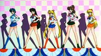 Sailor Moon R Sailor Senshi in the Movie