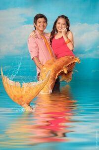 Aryana Ella Cruz and Paul Salas