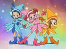 Ojamajo Doremi Group transformation pose