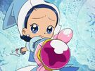 Motto! Ojamajo Doremi Aiko using her spell (sad)