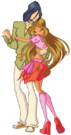 Winx Club Flora ans Helia s2 pose2