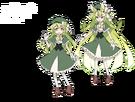 Gen'ei o Kakeru Taiyou Luna pose