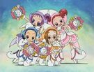 Ojamajo Doremi Sharp Royal Patraine Group transformation pose