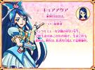 Precure All Stars Character Cure Aqua