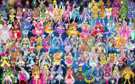 101 Pretty Cure Warriors with Fairies