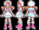 Kira Kira Pretty Cure Ala Mode Ichika patisserie uniform