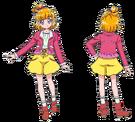 Mahou Tsukai Pretty Cure Mirai Casual Movie pose2