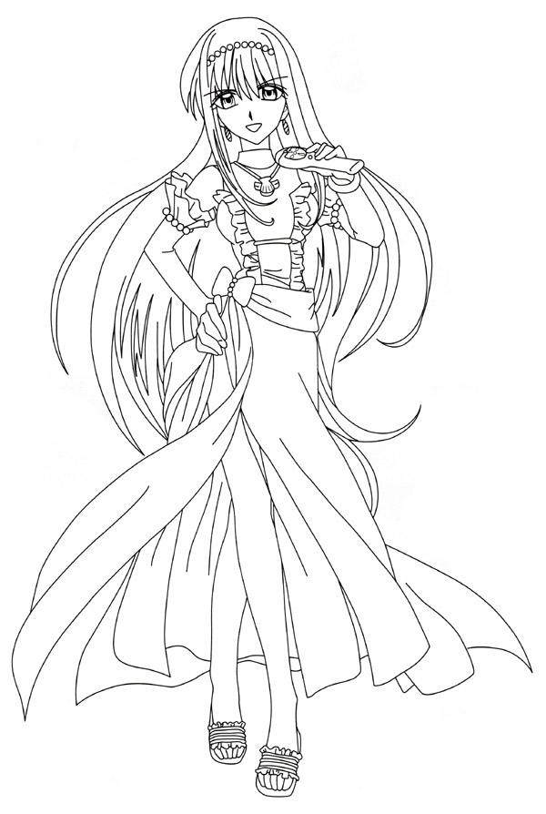 image  00ausmalbild06  magical girl mahou shoujo