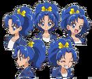 Kira Kira Pretty Cure Ala Mode Aoi faces