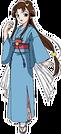 Rakugo Tennyou Oyui Ogin pose