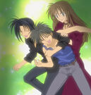 Full Moon wo Sagashite Takuto, Keiichi and Aoi