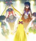 Sailor Moon Crystal Sailor senshi using the Sailor Teleport