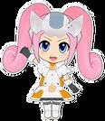 Hi sCoool! SeHa Girl Dreamcast pose