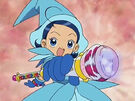 Ojamajo Doremi Aiko using her spell 2