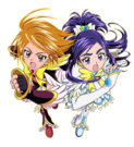 Pretty Cure Max Heart Movie2 Phoenix Black and White file