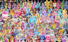 154 Pretty Cure Warriors with Fairies (Updated)