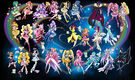 26 Pretty Cure Warriors with Fairies