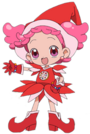 Ojamajo Doremi Poppu witch pose