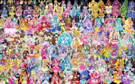 153 Pretty Cure Warriors with Fairies (Updated3)