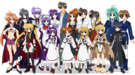 Magical Girl Lyrical Nanoha All Characters