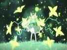 Gen'ei o Kakeru Taiyou Luna using her powers