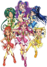 Pretty Cure All Stars DX Yes! Pretty Cure 5 GoGo pose