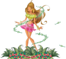 Winx Club Flora s1 pose5