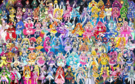110 Pretty Cure Warriors with Fairies (Updated2)
