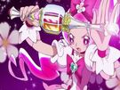 Heartcatch Pretty Cure! Cure Blossom with her Blossom Tact