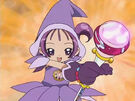 Ojamajo Doremi Onpu using her spell