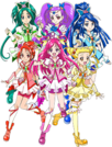 Precure Festival Character Yes! Precure 5 GoGo!