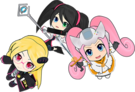 Hi sCoool! SeHa Girl Dreamcast, Sega Saturn and Mega Drive pose