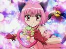 Tokyo Mew Mew Ichigo with her Strawberry Bell