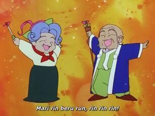 Hana no Mahou Tsukai Mary Bell Jiji Bell and Baba Bell spell