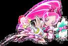 Heartcatch Pretty Cure! Cure Blossom pose3